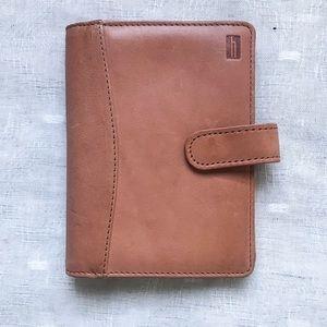 Cognac Hartmann Wallet Small Leather Coin Purse
